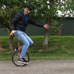99-Mile Unicycle Commute in Aid of Sussex Cancer Fund