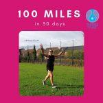 Consortium's Kat running 100 miles in 30 days
