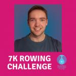Consortium's David Kemp rowing 7K in 7 days