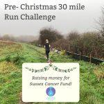 Consortium's Ophelia Stevenson 30 Mile Pre-Christmas Run Challenge!